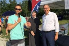 Sr. Franziska Buttinger & Mag. Dietbert Timmerer Klinikum Wels
