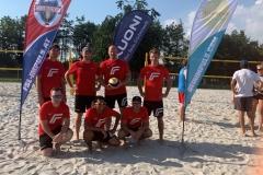 Fronius Team Foto mit Teamkapitän