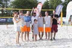 Platz 3 Porsche Wels Beach Team