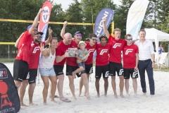 Platz 2 Fronius Volley Team